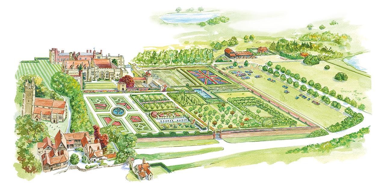 Interactive Garden Map Penshurst Place